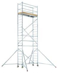Zobrazit detail - Hliníkové pojízdné lešení pro pracovní výšku 10,25 m