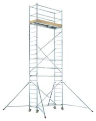 Zobrazit detail - Hliníkové pojízdné lešení pro pracovní výšku 8,25 m