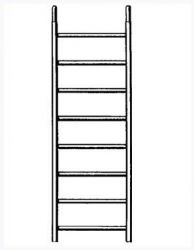 Zobrazit detail - Náhradní rám 8 příček pro pojízdné lešení 7074