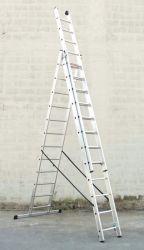 Hliníkový žebřík profi 3x13
