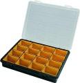 Plastový organizér na drobné díly 3300 - s vloženými krabičkami Artplast