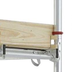Hliníkové pojízdné lešení pro pracovní výšku 10,25 m Hymer