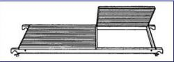 Náhradní plošina k pojízdnému lešení 7071