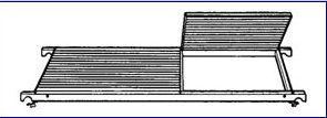 Náhradní plošina k pojízdnému lešení 7071 Hymer