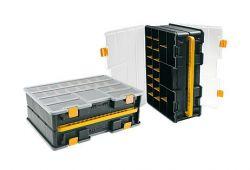 Plastový kufr na spojovací materiál typ 4600 443x317x160 mm
