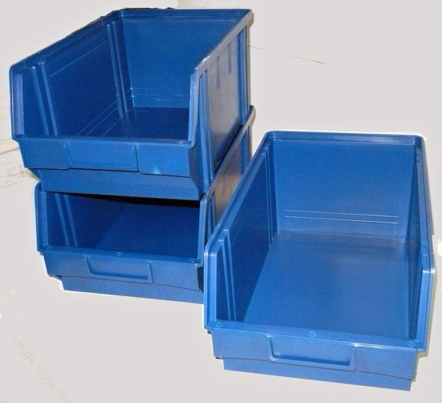 Plastový box na šroubky 104 modrý