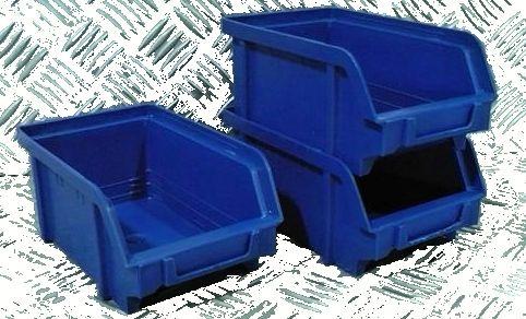 Plastový box na šroubky 102 modrý