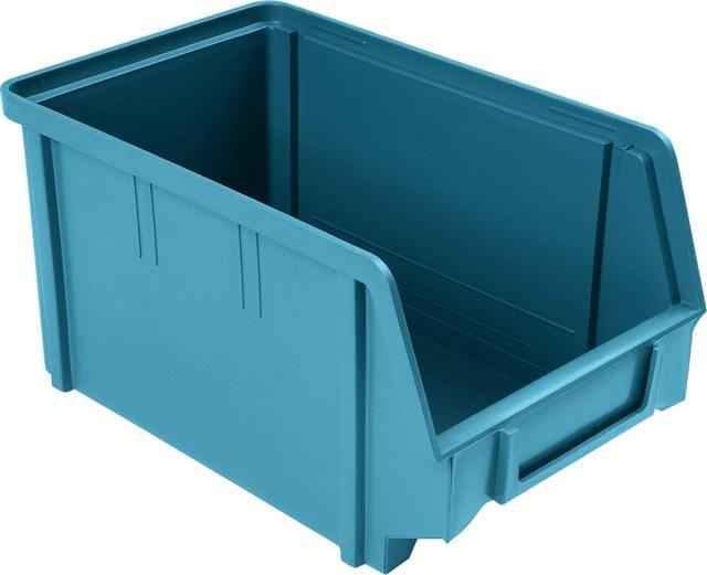 Plastový box na šroubky 103 šedomodrý