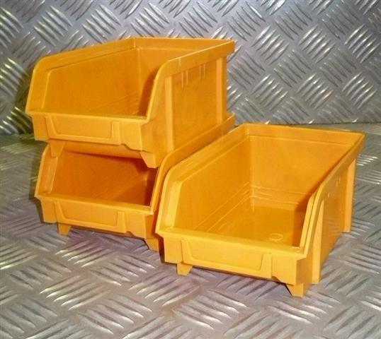 Plastový box na šroubky 102 žlutý