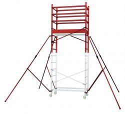 Hliníkové pojízdné lešení ALTO 1+2+3 pro prac. výšku 6,9 metru FACAL