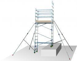 Hliníkové pojízdné lešení ALTO 1+2 - 4,8 metru