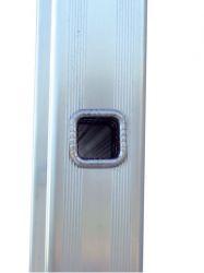 Hliníkový žebřík hobby 3x11