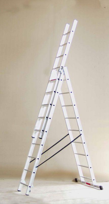 Hliníkový žebřík Alpos profi 3 x 11