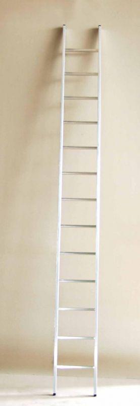 Jednodílný hliníkový žebřík profi 10 příček