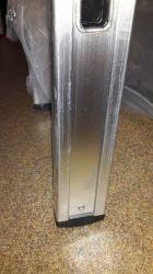 Jednodílný hliníkový žebřík profi 6 příček Fintes