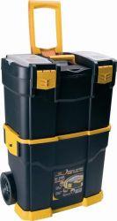 Plastový kufr na nářadí pojízdný profi 6700 R
