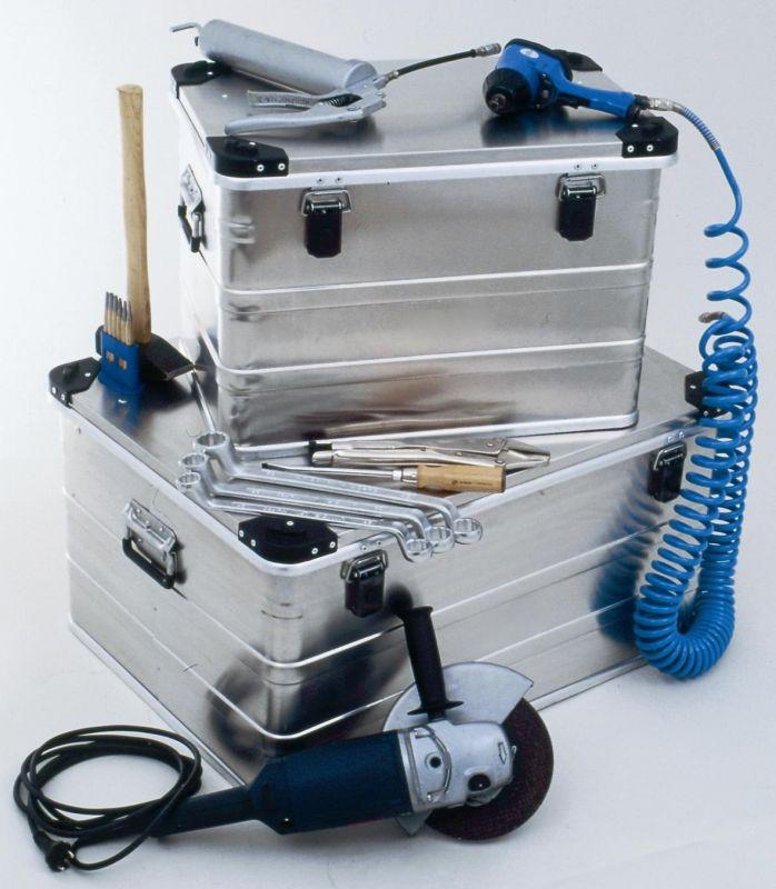 Přepravní hliníkový box 47 litrů D47 -1 mm
