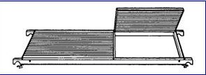 Náhradní plošina k pojízdnému lešení 7074 Hymer