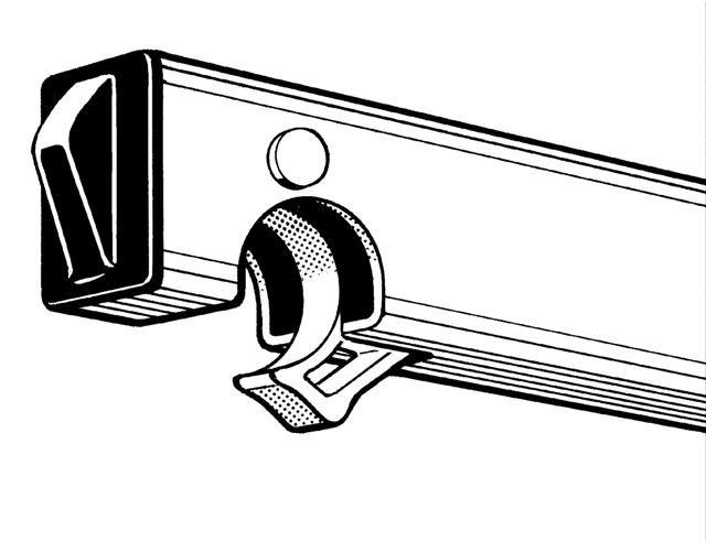 Horizontální vzpěra pro pojízdné lešení Hymer typ 7074