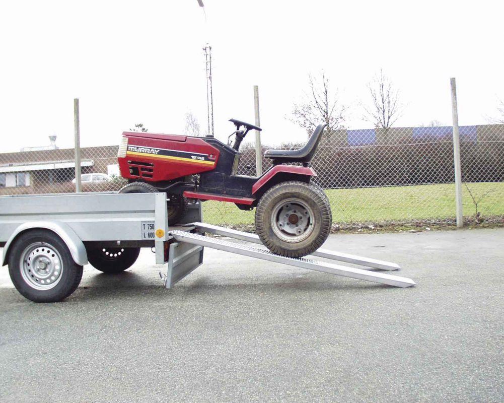 Hlíníkové nájezdy přímé 1485x200 mm, 350-600 kg Metalmec