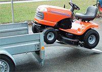 Hliníkové nájezdy obloukové 2000x200 mm, 200-450 kg