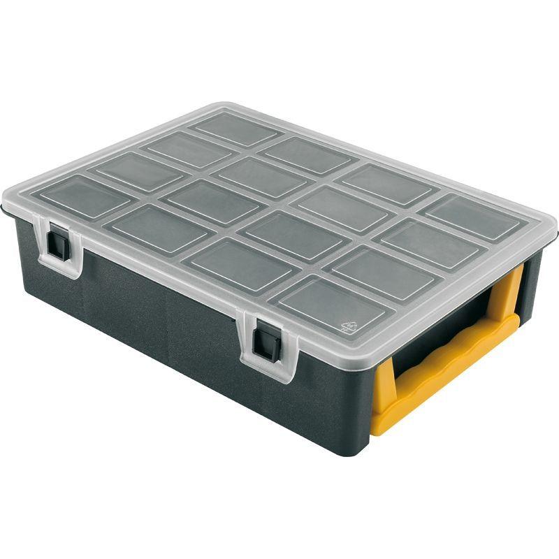 Plastový organizér na drobné součástky typ 3350 242x188x60 mm