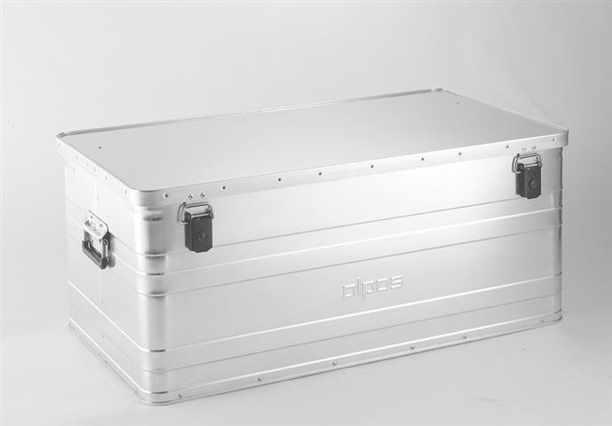 Přepravní hliníkový box Alpos 140 litrů B140 -0,8 mm
