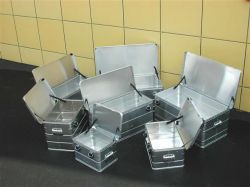 Přepravní hliníkový box 140 litrů -1 mm ALPOS