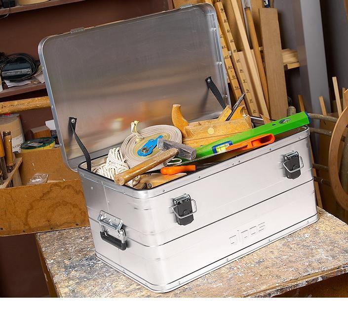 Přepravní hliníkový box 47 litrů -0,8 mm ALPOS