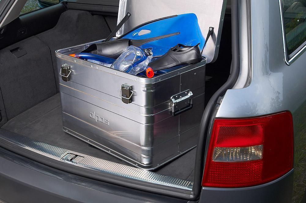 Přepravní hliníkový box Alpos 70 litrů B70 -0,8 mm