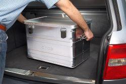 Přepravní hliníkový box 70 litrů -0,8 mm ALPOS