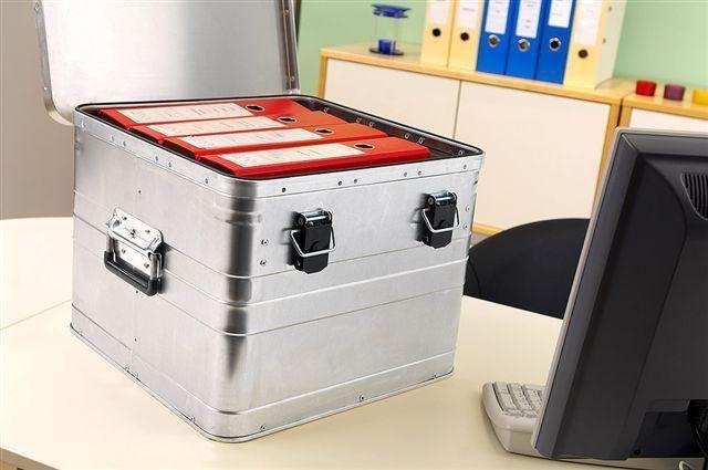 Přepravní hliníkový box na dokumenty BB 50 ALPOS