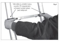 Teleskopické štafle G21 2x8 příček