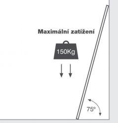Teleskopické štafle G21 9+11 příček