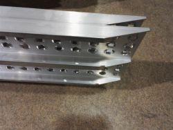 Hliníkové nájezdy přímé 2500x300 mm, 500-1000 kg Metalmec