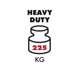 Hliníkové schůdky HAILO ProfiLine P225 kg 9+1