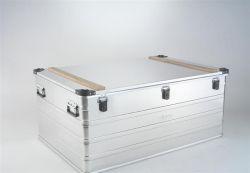 Přepravní hliníkový box 415 litrů II.jakost