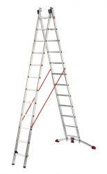 Štaflový žebřík profi Hailo 2x12 příček II.jakost