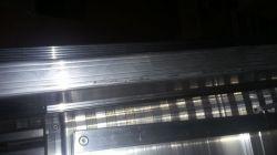 Hliníkové schůdky HYMER 8080 5 nášlapů II.jakost