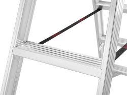 Hliníkové štafle Hailo 2x4 nosnost 250 kg
