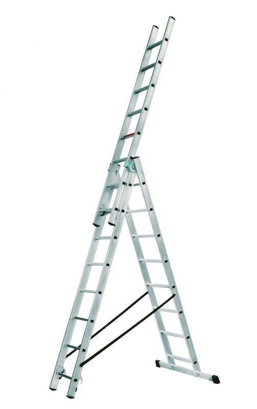 Hliníkový žebřík Alpos profi 3x8