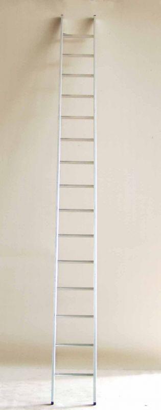 Jednodílný hliníkový žebřík Alpos profi 17 příček
