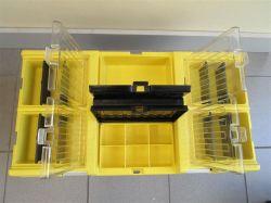 Plastový box na nářadí STUF 26 CARBO 595x337x316 mm Patrol