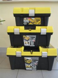 Plastový box na nářadí PATROL STUF 26 CARBO 595x337x316 mm