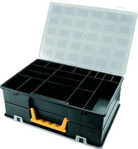 Oboustranný plastový organizér s pevnými přepážkami 4400 360x252x128 mmx128 mm