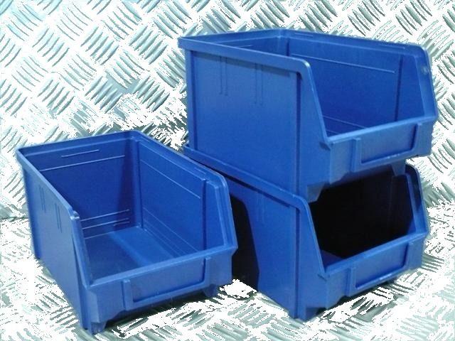 Plastový box na šroubky 103 modrý