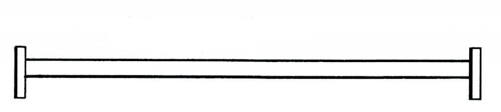 Pojezdová traverza k lešení Hymer Euroform 7071