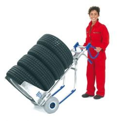 Rudl na pneumatiky - bílá bezdušová kola Expresso
