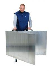 Skládací hliníková rampa 2000x800 mm, 400 kg
