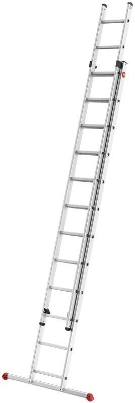 Výsuvný žebřík Hailo profi 2x12 příček